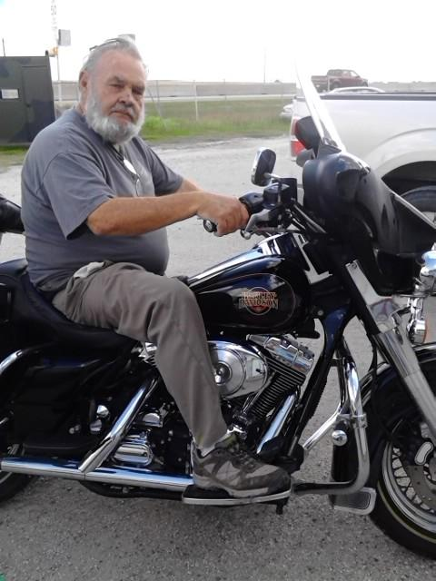 Bill's Harley ElectraGlide   Dec 2014